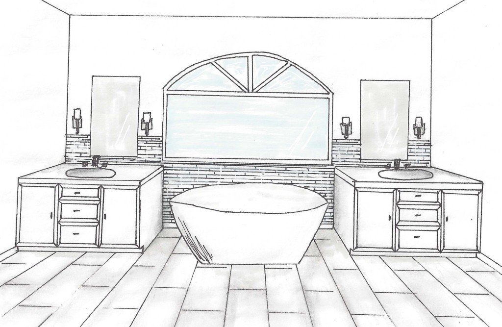 bathroom reno rendering